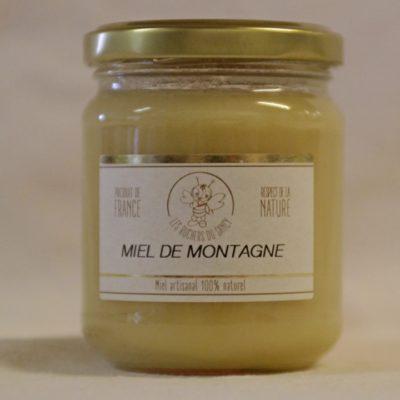 Les ruchers du Sancy miel de montagne 250g